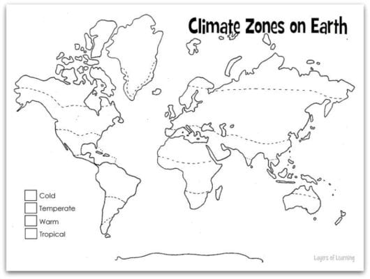 Climate Layers of Learning – Climate Worksheet