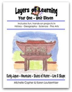 Layers of Learning Unit 1-11 sample page