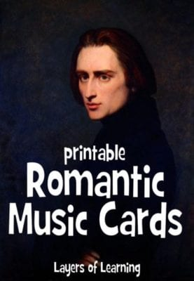 Romantic Music Cards 1