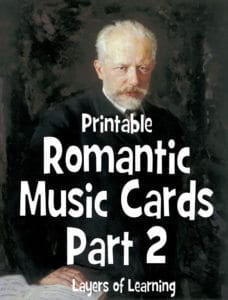 Romantic Music Cards, Part 2