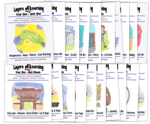 Layers of Learning Complete Year One Set
