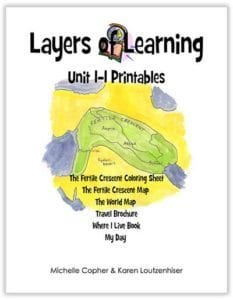 Layers of Learning Unit 1-1 Printable Pack