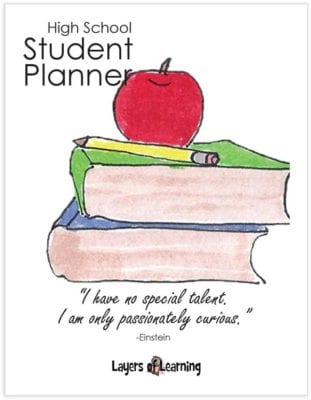 High School Planner cover