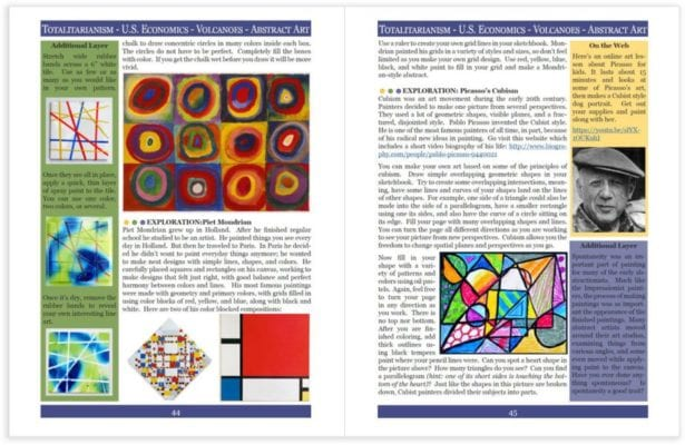 Layers of Learning Unit 4-9 sample pages