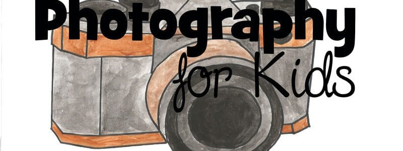 Introduction To Photography For Kids