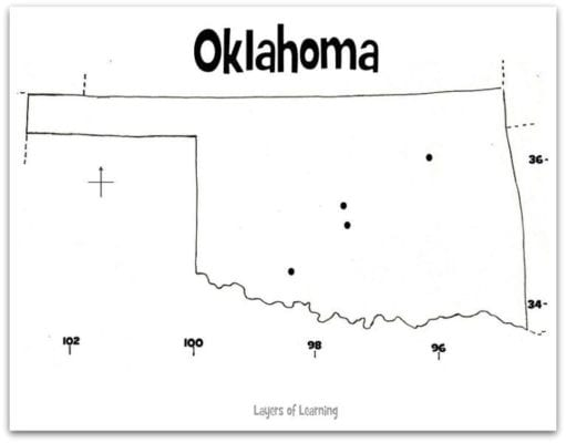 Oklahoma Map web