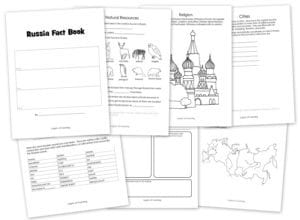 Printable Russia Fact Book