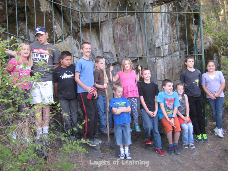 expedition to see petroglyphs in person