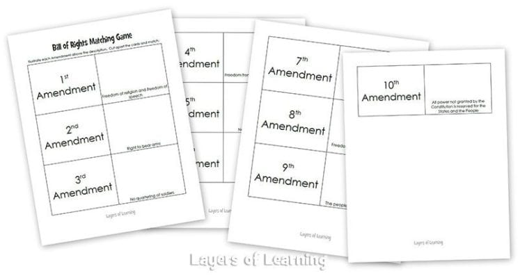 Bill Of Rights Worksheets Templates and Worksheets – Bill of Rights Worksheets