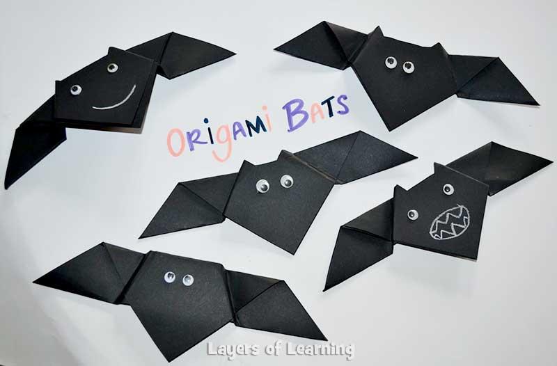 Origami-Bats