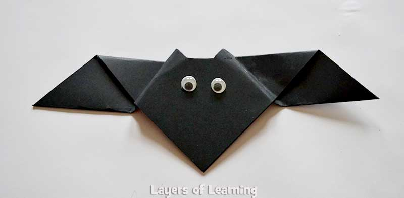 Origami Bats Layers Of Learning