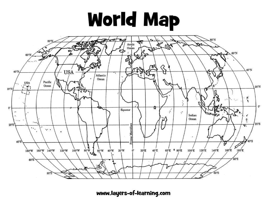 Image of: A Grid On Our Earth An Exploration On Map Grids Layers Of Learning