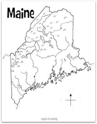 Maine-Map