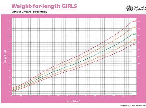 Weight For Length Chart Layers Of Learning