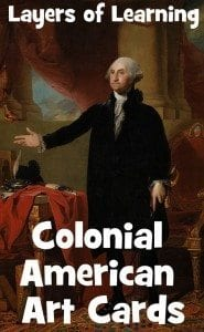 Colonial Art card set