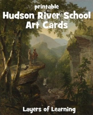 Hudson River School Art Cards