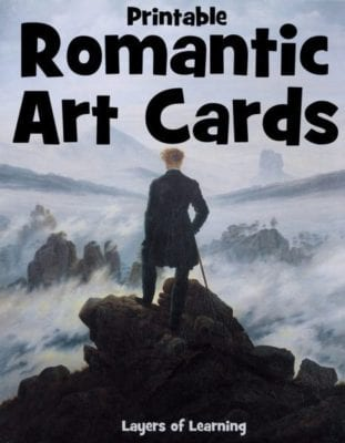 Romantic Art Cards