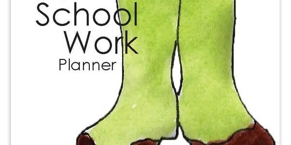 Layers of Learning Early Grades Student Planner