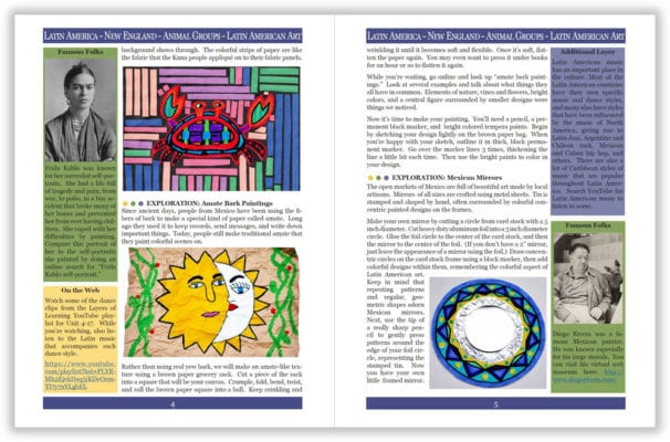Layers of Learning Unit 4-17 sample pages
