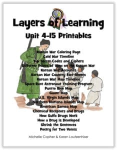 Layers of LEarning Unit 4-15 Printable Pack cover