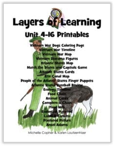 Layers of Learning Unit 4-16 Printable Pack cover