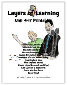 Layers of Learning Unit 4-17 printable pack cover