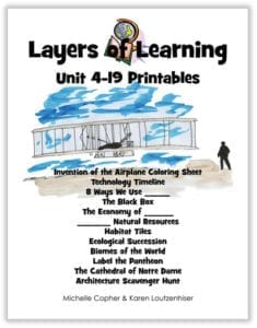 Layers of Learning Unit 4-19 Printables Cover