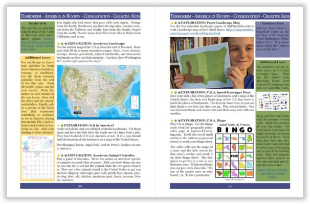 Layers of Learning Unit 4-20 sample pages