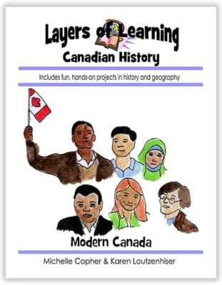 Modern Canada unit from Layers of Learning