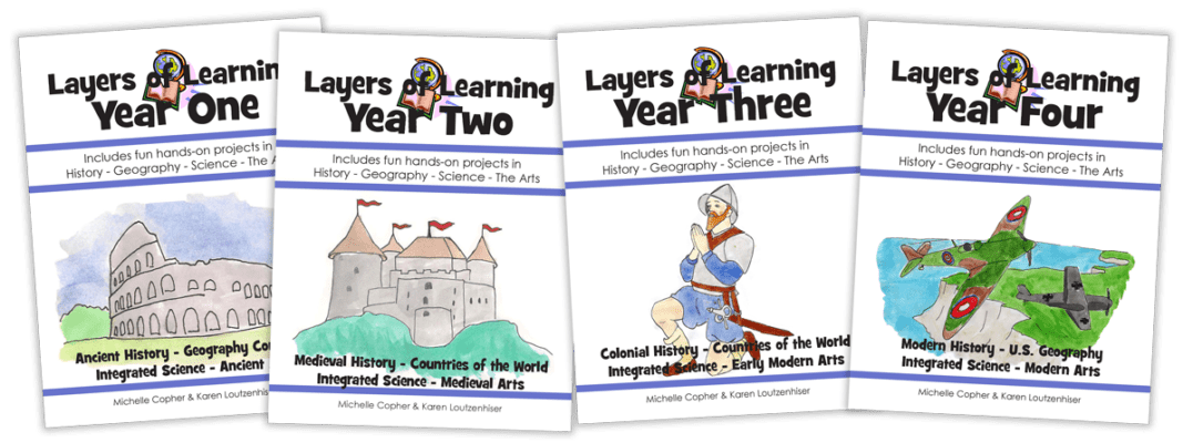 Layers Of Learning Four Years Covers