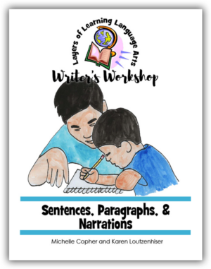 Sentences, Paragraphs, & Narrations Cover