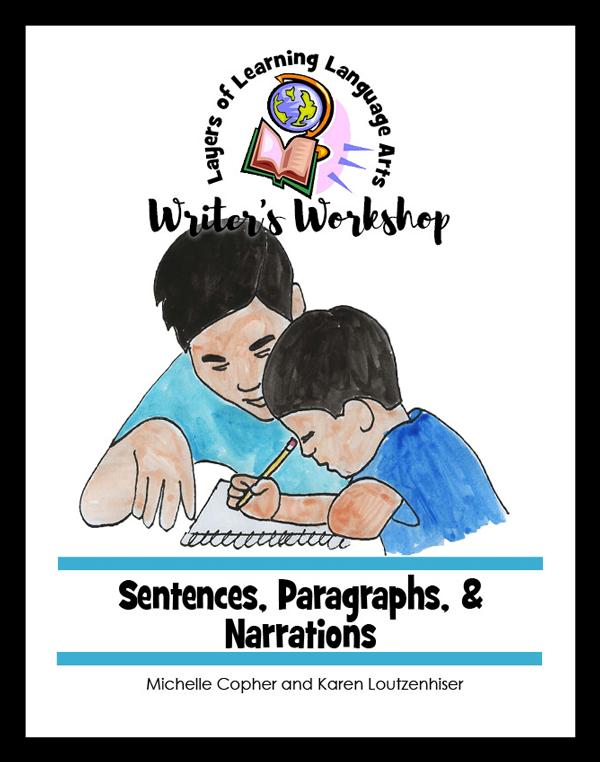 Sentences, Paragraphs, & Narrations Cover