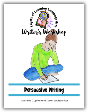 Persuasive Writing Cover