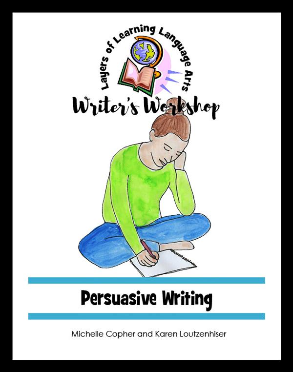 Persuasive Writing Cover